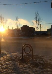 Sunrise in Saskatoon
